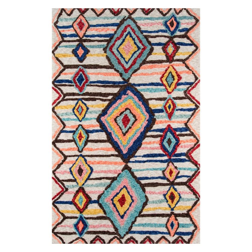 9'X12' Shapes Tufted Area Rug - Momeni, Multicolored