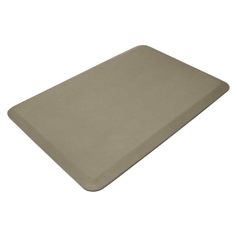 "Image of ""Beige Professional Grade Anti-Fatigue Comfort Kitchen Mat 20""""x32"""" - Newlife By Gelpro, Grey"""