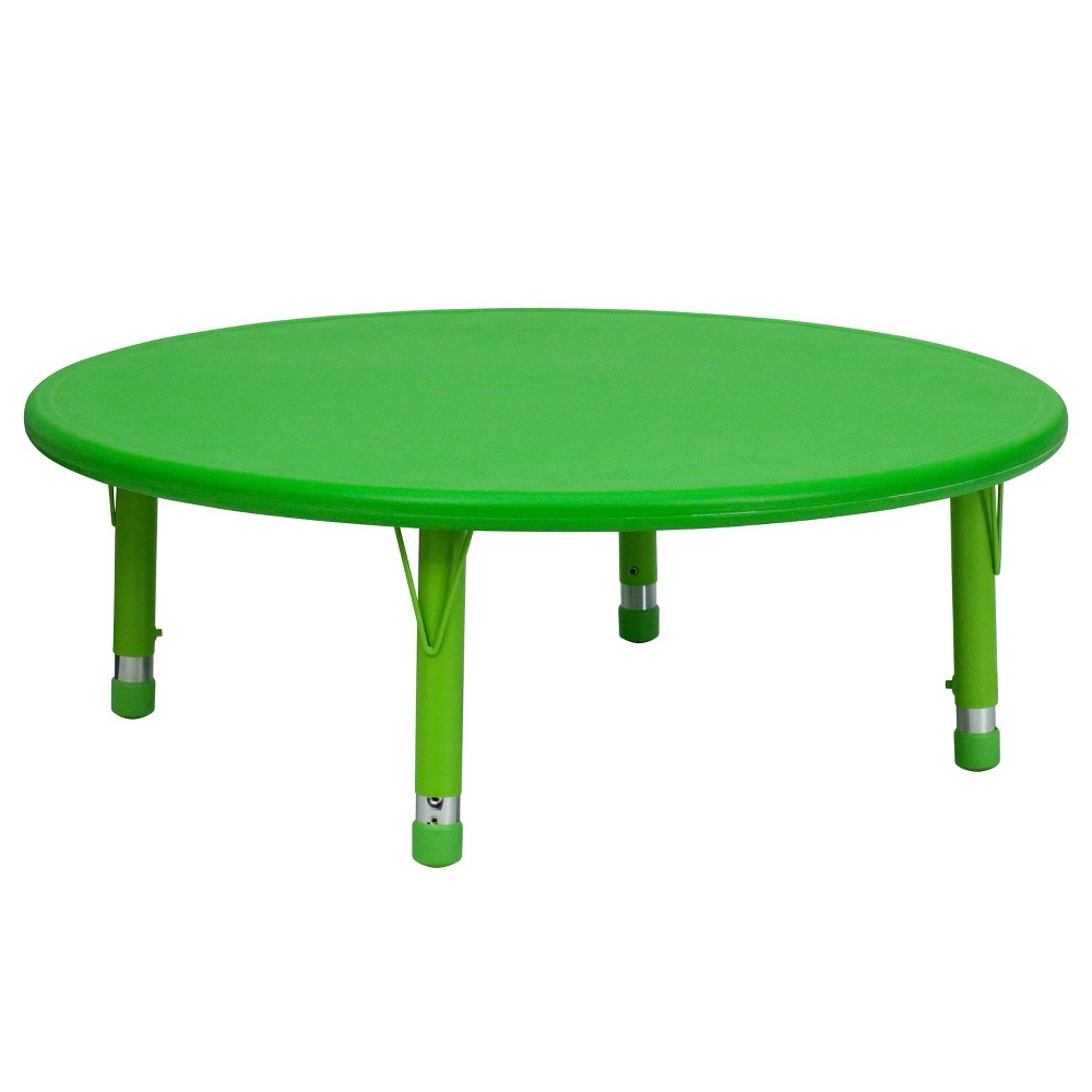 Image of Flash Furniture Round Activity Table Green - Belnick