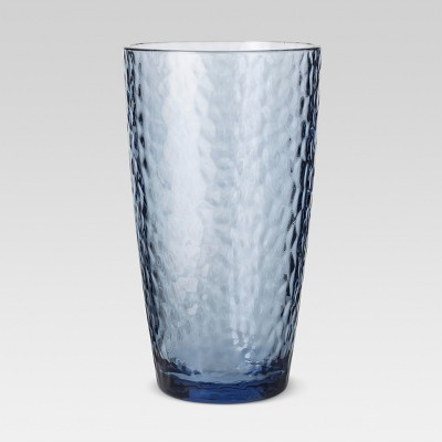 Plastic Textured Tall Tumbler 18oz Blue - Threshold™