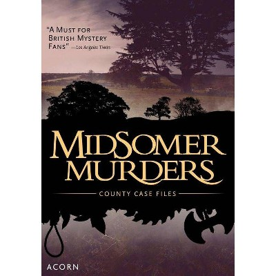 Midsomer Murders: County Case Files (DVD)(2018)