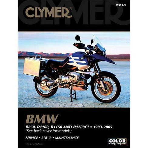 bmw r850, r1100, r1150 and r1200c* 1993-2005 - (clymer color wiring diagrams)  2 edition (paperback) : target  target