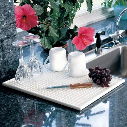 Plastic Dish Drainer Rack White - Lynk Professional - image 1 of 3