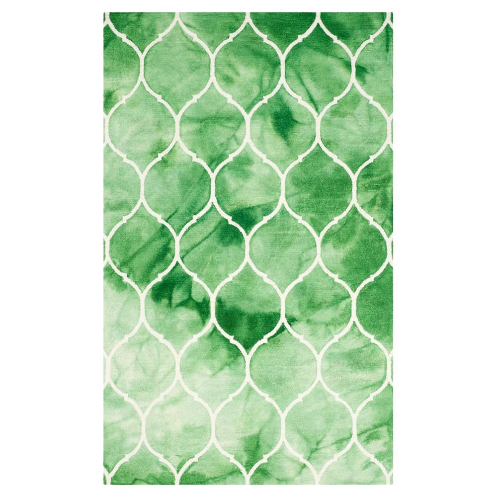 Adkins Area Rug Green Ivory 5 X 8 Safavieh Greenivory