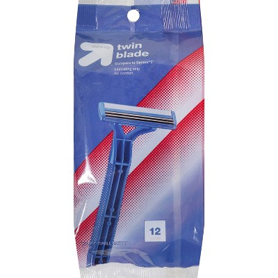 Men's Twin Blade Disposable Razor - 12ct - up & up™