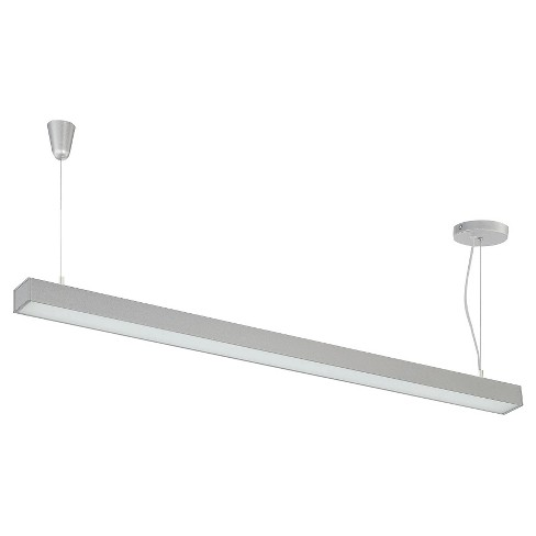 Raye 1 Light LED Pendant - Silver - image 1 of 2