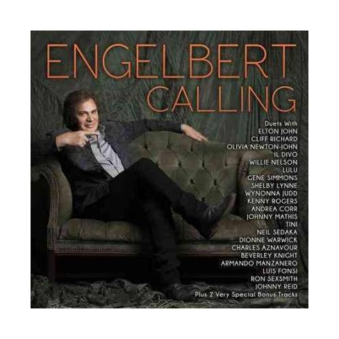 Humperdinck, Engelbert (Vocal) - Engelbert Calling (Bonus Track) (Digipak) (CD) - image 1 of 2