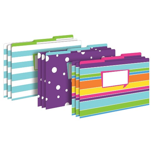 "Barker Creek® File Folders, 9.5"" x 14.8"", 9ct - Happy - image 1 of 6"