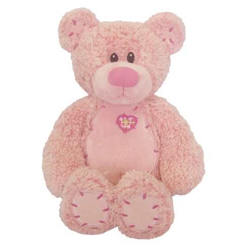 First & Main Tender Teddy Plush Toy - Pink - image 1 of 1