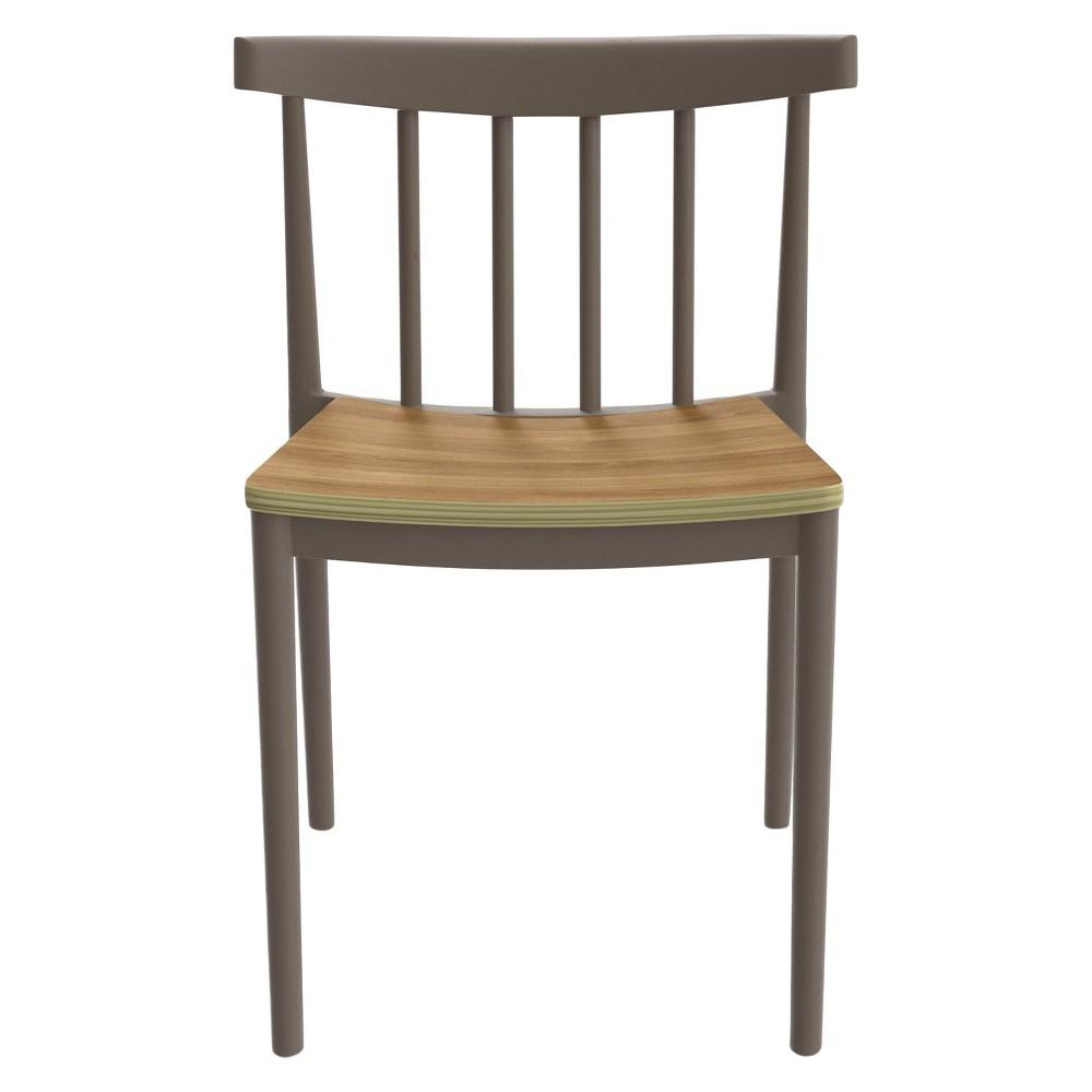 Benjamin Dining Chairs - Gray (Set Of 2) - Aeon