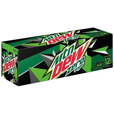 Mountain Dew Zero Sugar - 12pk/12 fl oz Cans