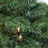 "Northlight 42"" Prelit Canadian Pine Artificial Christmas Teardrop Door Swag - Clear Lights - image 2 of 3"