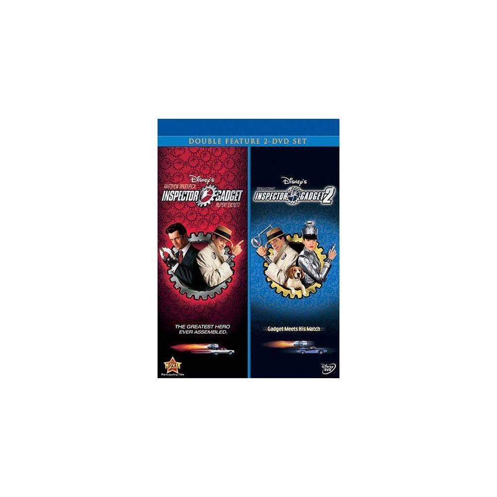 Inspector Gadget / Inspector Gadget 2 (DVD)(2008)