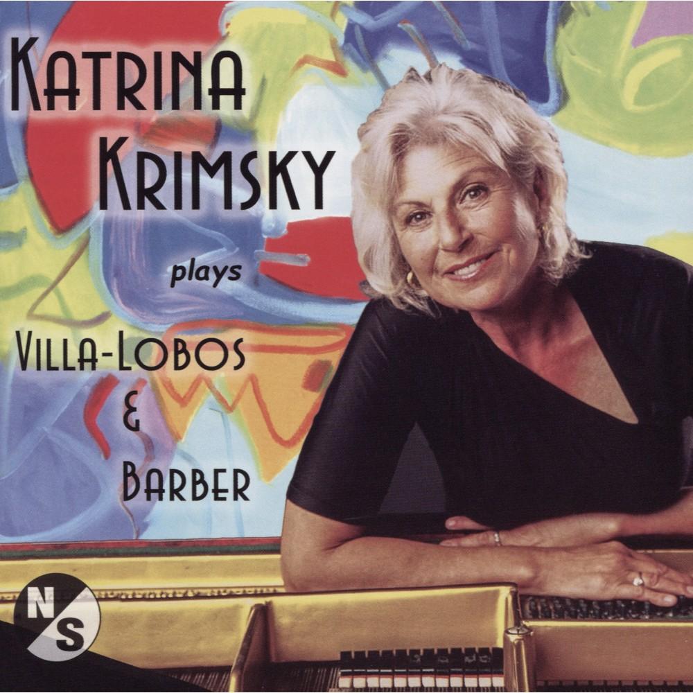Katrina Krimsky - Katrina Krimsky Plays Villa Lobos & B (CD)