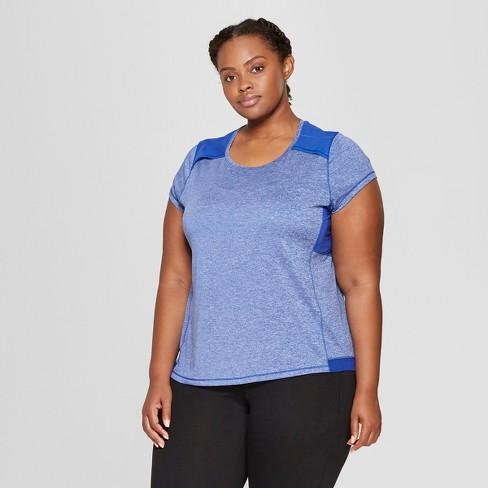 f9c7be0938d6b Women s Plus Size Short Sleeve Run T-Shirt - C9 Champion®   Target