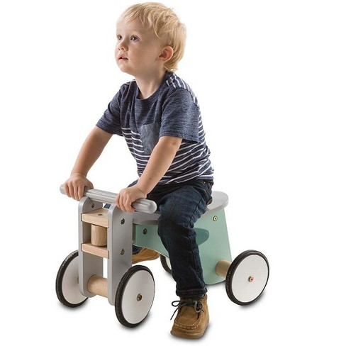 Magic Cabin - Retro Style Wooden Scooter Bike for Kids - Great First Bike - image 1 of 1