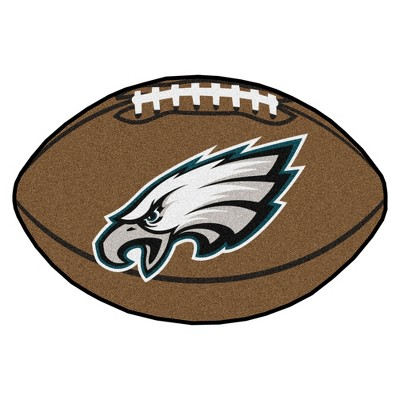 Philadelphia Eagles Fan Mats Football Rug 35 x22