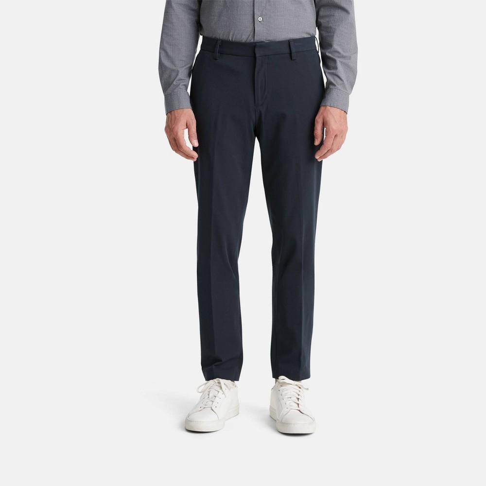 Dockers Men 39 S Slim Fit City Tech Trousers Navy 33x30