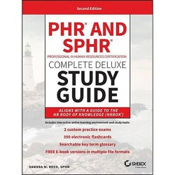 Phr and Sphr Professional in Human Resources Certification Complete Deluxe Study Guide - 2 Edition