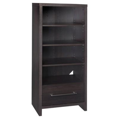 Storage Furniture Media Tower - Black Walnut-ClosetMaid