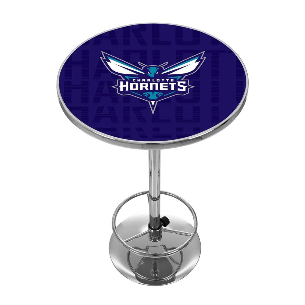NBA Charlotte Hornets City Chrome Pub Table