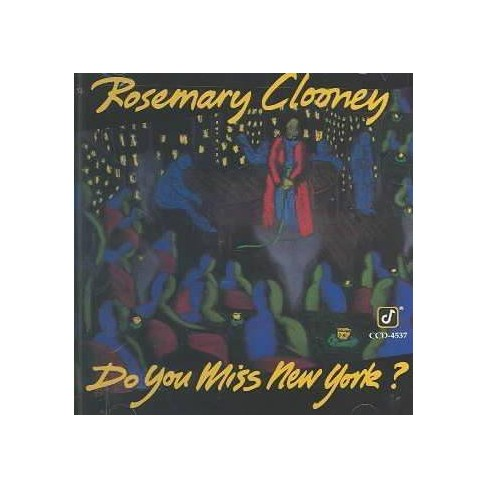 Rosemary Clooney - Do You Miss New York (CD) - image 1 of 1