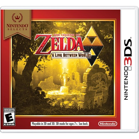 Nintendo Selects: The Legend of Zelda: A Link Between Worlds - Nintendo 3DS - image 1 of 1