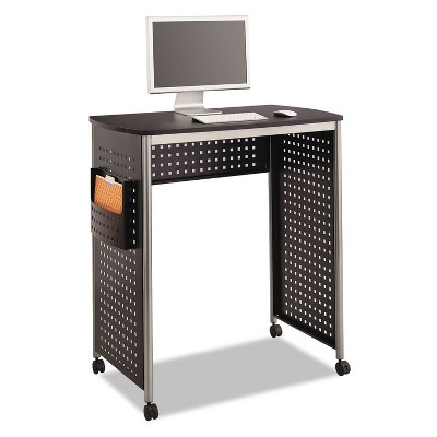 Safco Scoot Stand-Up Workstation 39 1/2w x 23 1/4d x 42h Black 1908BL