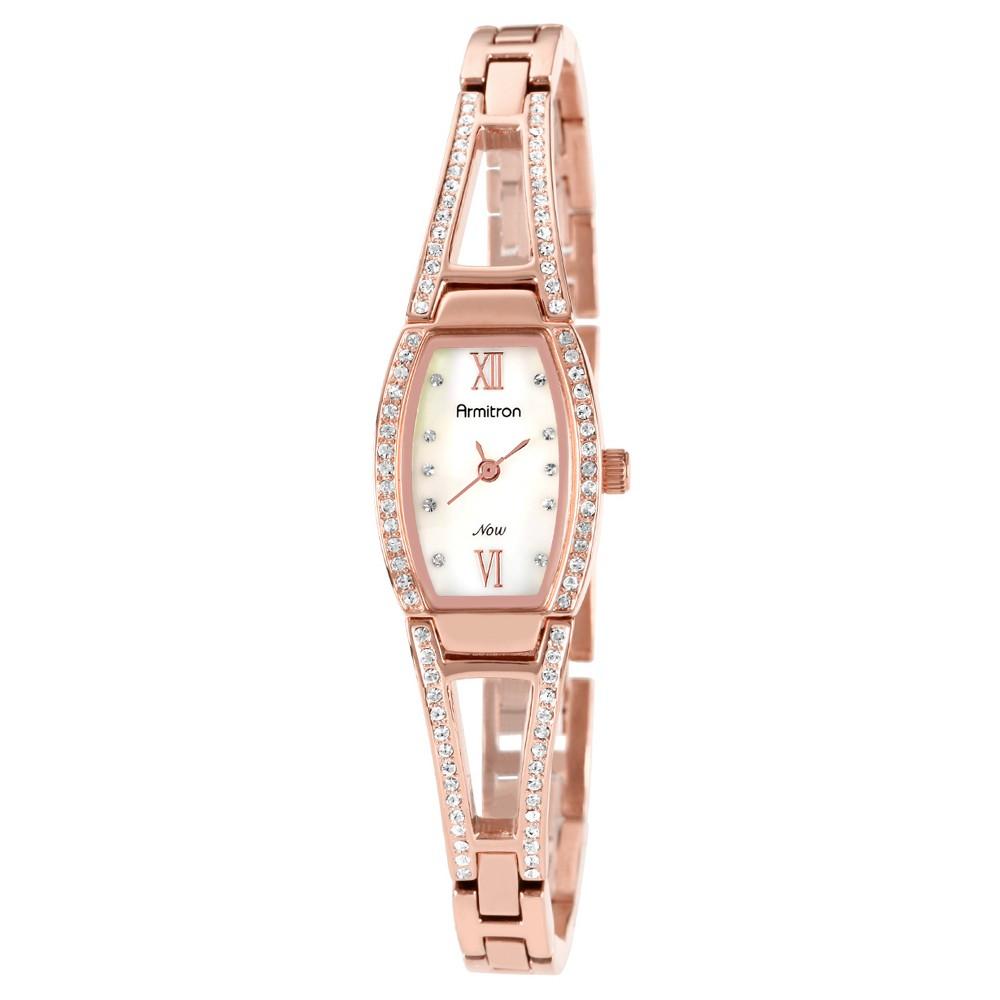 Armitron Ladies' Bangle Watch - Rose gold