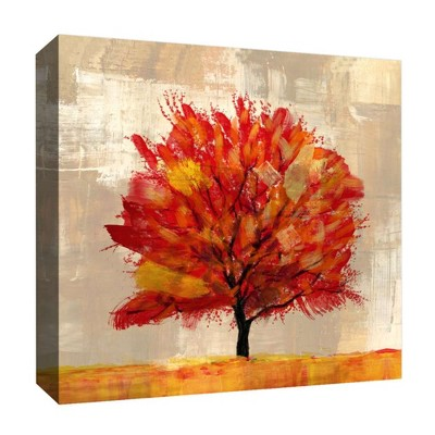"16"" x 16"" Autum Tree I Decorative Wall Art - PTM Images"