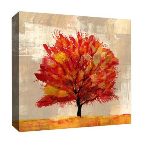 Autumn Tree I Decorative Canvas Wall Art 16\