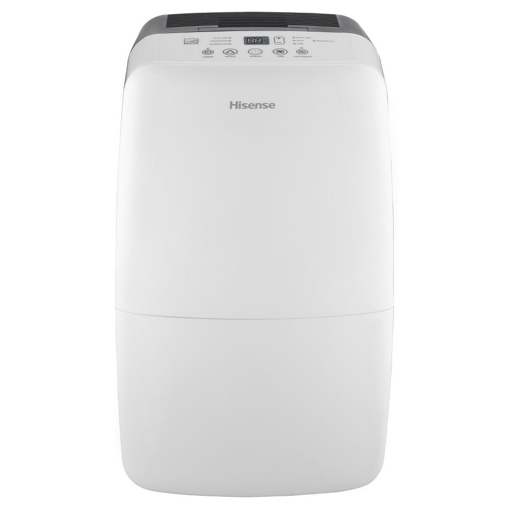 Hisense - 70 Pint Dehumidifier - White