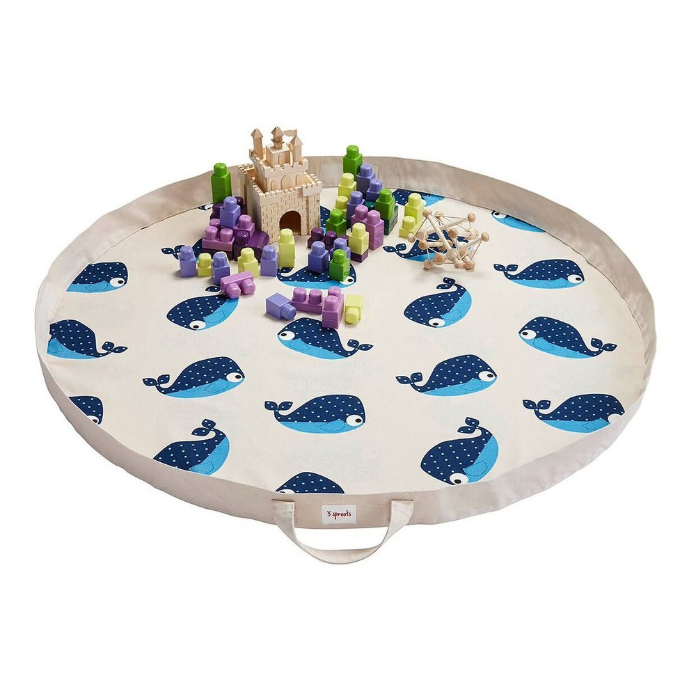 Whale Play Mat - 3 Sprouts, Multi-Colored