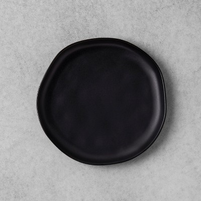 Stoneware Salad Plate - Black - Hearth & Hand™ with Magnolia