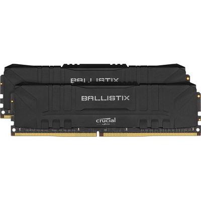 Crucial Ballistix 16GB DDR4 SDRAM Memory Module - For Motherboard - 16 GB (2 x 8 GB) - DDR4-3000/PC4-24000 DDR4 SDRAM - CL15 - 1.35 V - Unbuffered