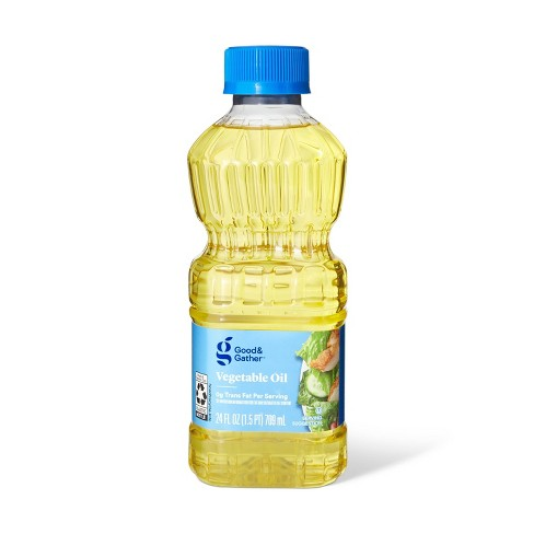 Vegetable Oil - 24oz - Good & Gather™ - image 1 of 2