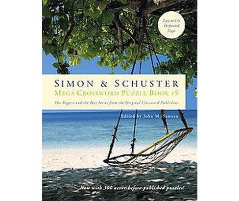 Simon & Schuster Mega Crossword Puzzle Book 5 (Paperback) - image 1 of 1