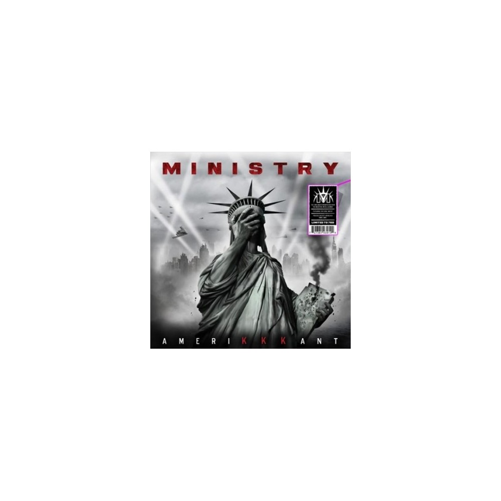 Ministry - Amerikkkant (Black & Grey Swirl) (Vinyl)