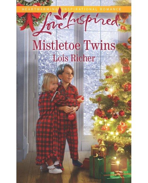 Mistletoe Twins -  (Love Inspired) by Lois Richer (Paperback) - image 1 of 1