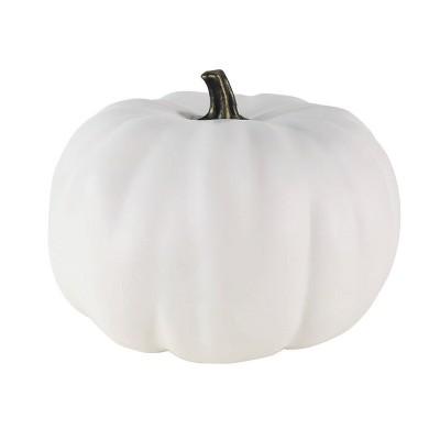 Medium Halloween Pumpkin Solid Cream - Hyde and Eek! Boutique™