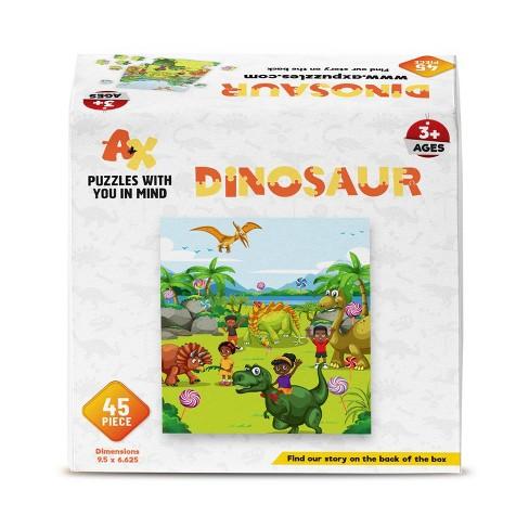 A+X Dinosaur Kids' Jigsaw Puzzle - 45pc - image 1 of 2