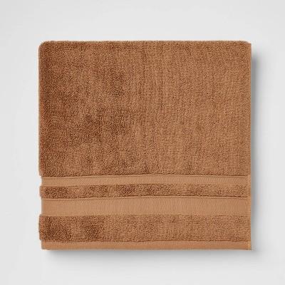 Performance Bath Towel Brown - Threshold™