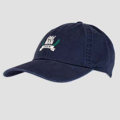 Wemco Men's Father's Day Old Man Crew Baseball Hat - Navy One Size