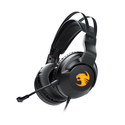 Roccat ELO 7.1 USB Surround Sound Gaming Headset for PC - Black - image 1 of 4