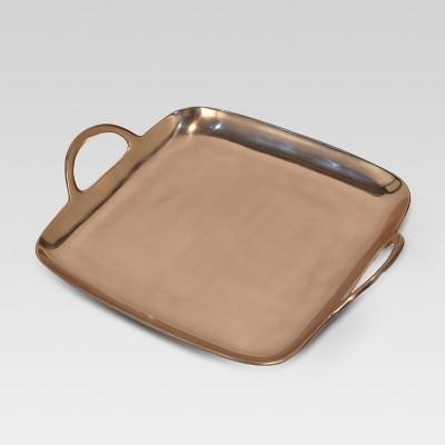 Square Metal Tray - Copper - Project 62™