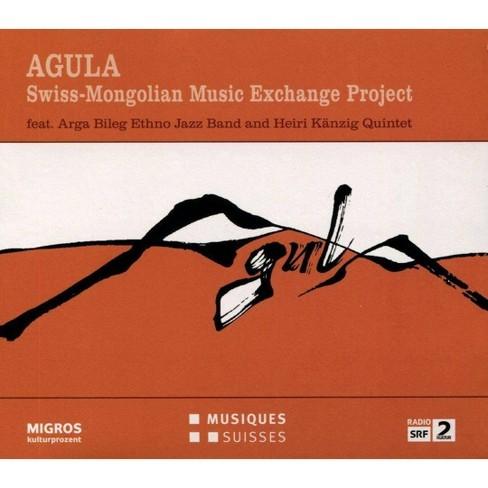Arga bileg ethno jaz - Agula:swiss mongolian music exchange (CD) - image 1 of 1