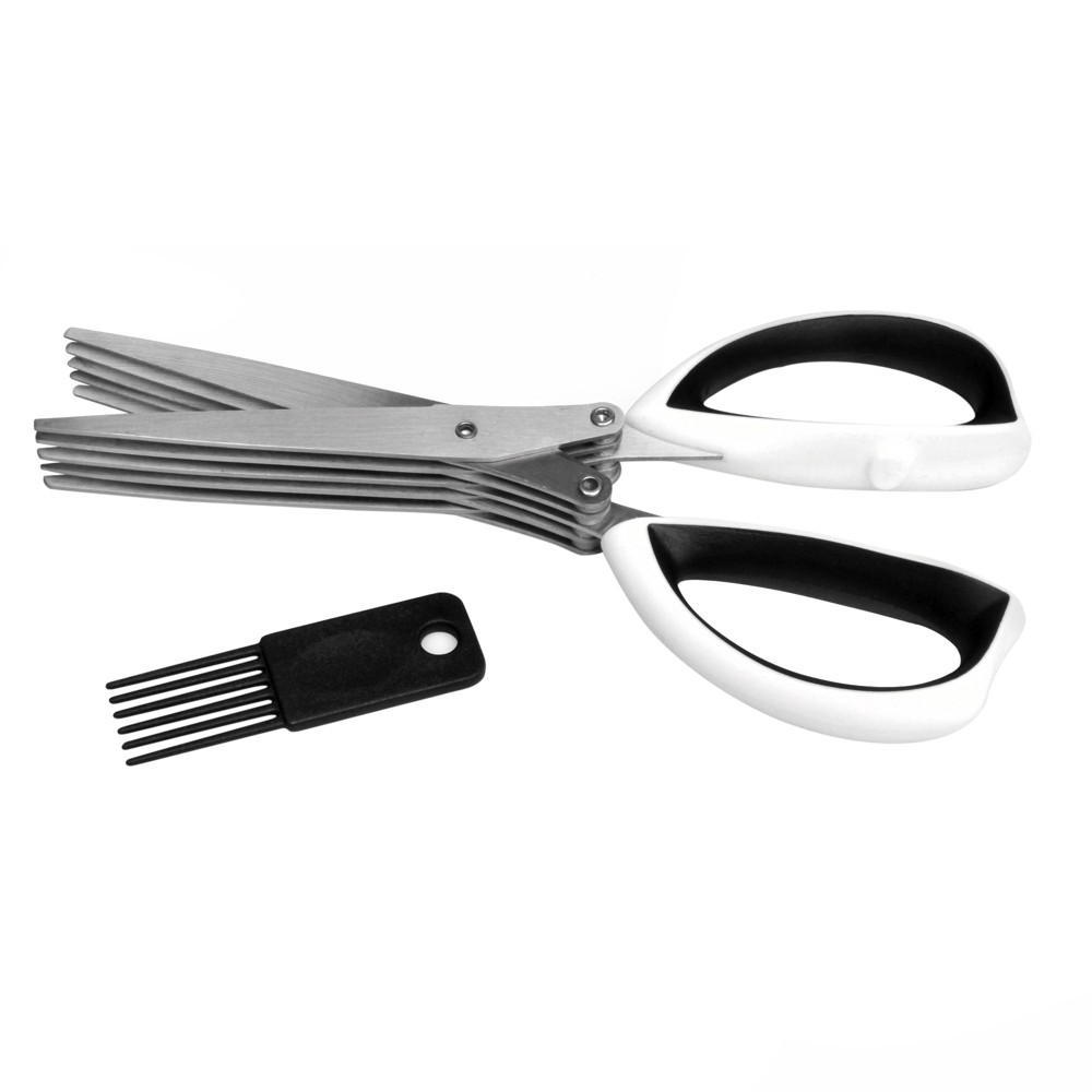 Image of Berghoff Multi Blade Herb Scissors, White