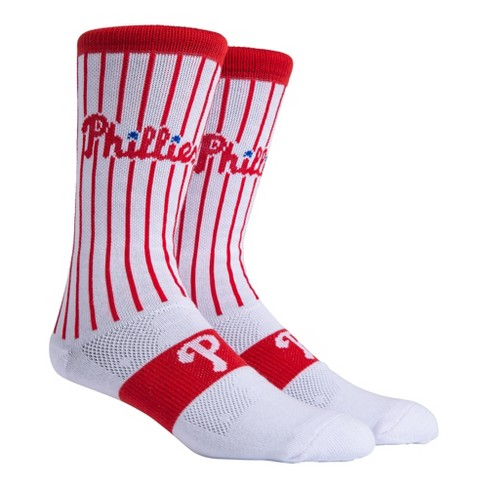 MLB Philadelphia Phillies Uniform Premium Crew Socks - image 1 of 3