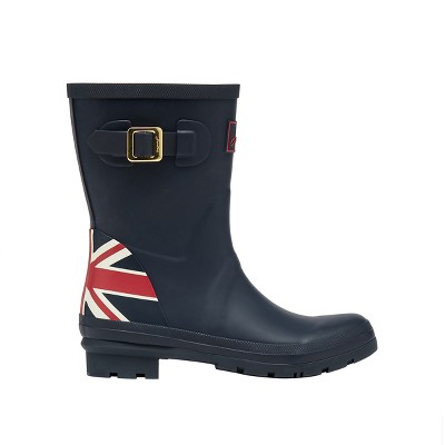 Joules Womens Molly Mid Height Printed Wellies