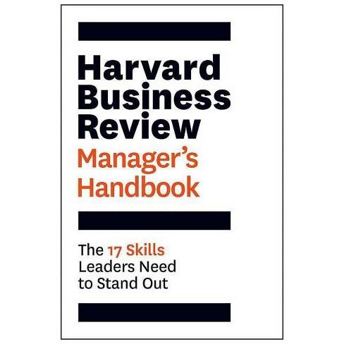 The Harvard Business Review Manager's Handbook - (HBR Handbooks) (Paperback) - image 1 of 1